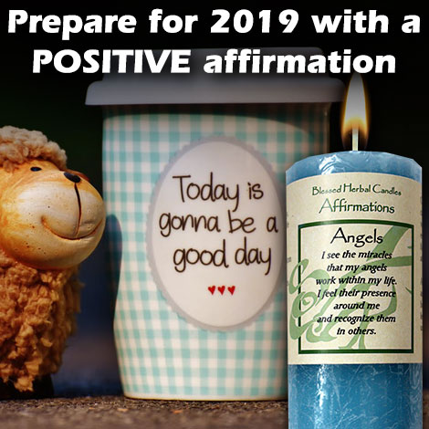 Prepare for 2019 with a POSITIVE affirmation blog 1