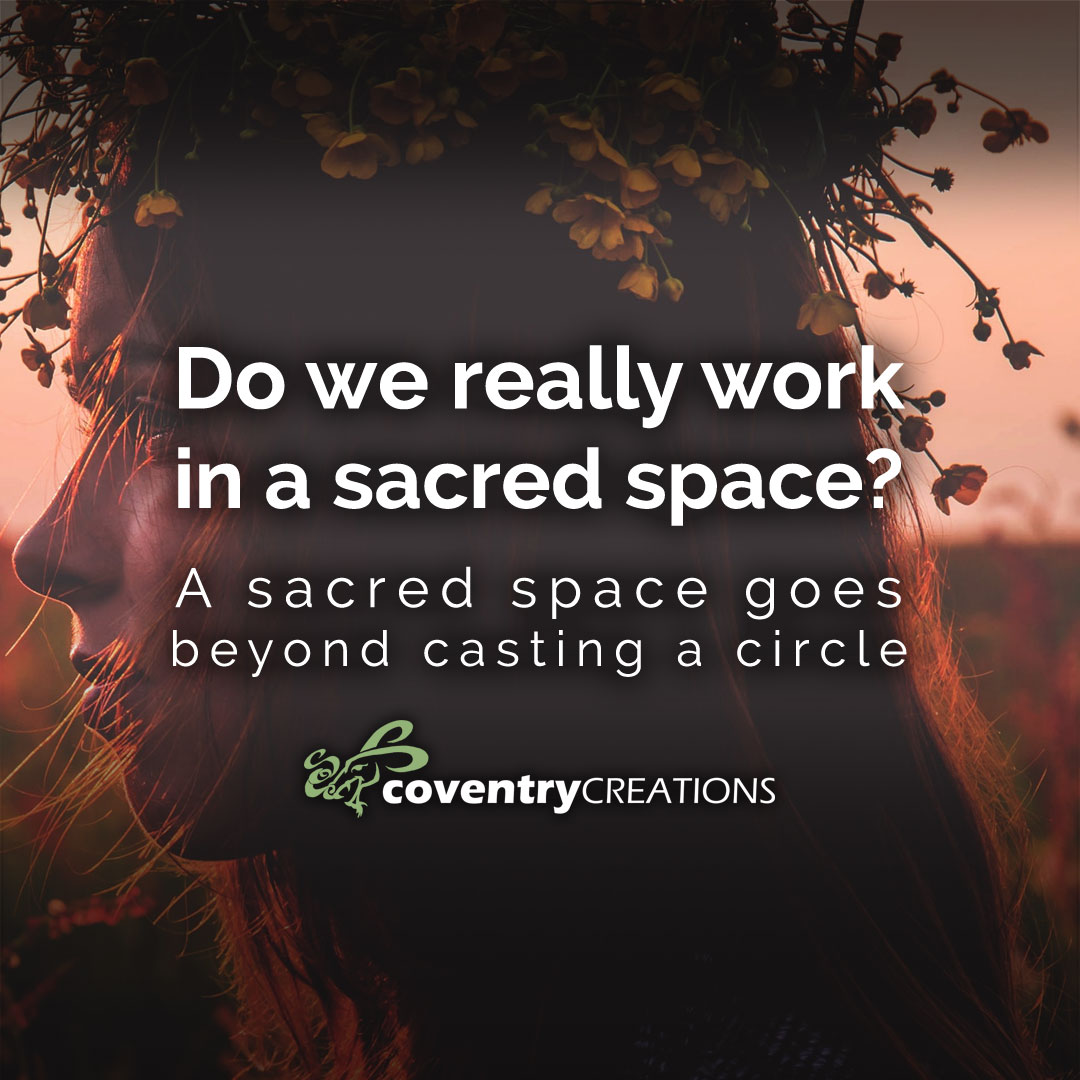 Do we really work in a sacred space Evergreen blog