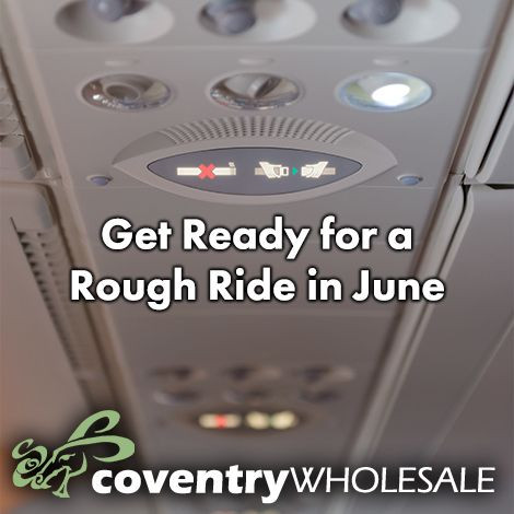 Get Ready for a Rough Ride in June