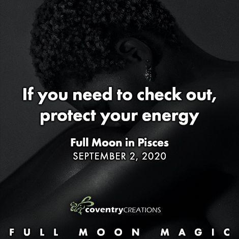 Full Moon in Pisces September 2, 2020