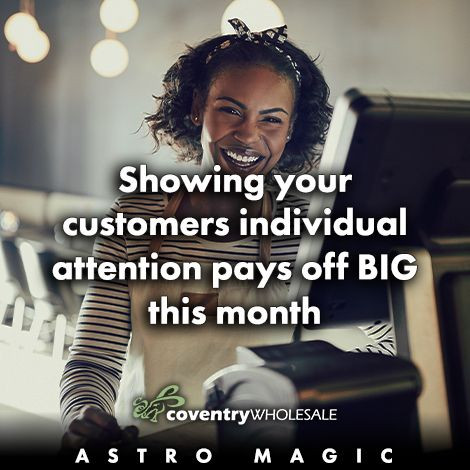 Showing your customers individual attention pays off big this month.