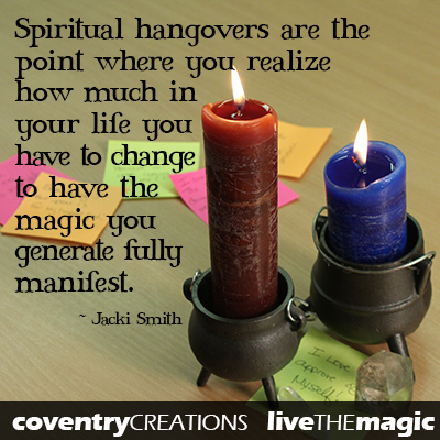 December Live the Magic Spiritual Hangover