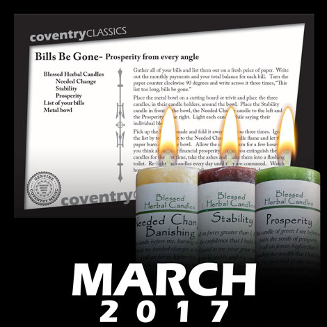 March 2017 Spell Caster Card