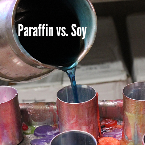paraffin vs soy